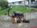 Yamaha Zest Umbau street projekt 2008 (custom tuning)(scooter roller)
