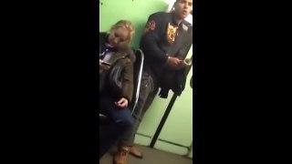سرقت بسیار دیدنی در مترو