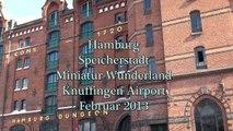 Miniatur Wunderland  Knuffingen Airport Hamburg Februar 2013 HD