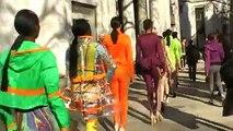 London Fashion Week, 2013. Street Catwalk.