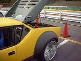 One of Fastest Pantera in Japan!  Jun's De Tomaso Pantera