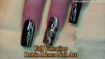 3 Nail Art Tutorials   DIY Louis Vuitton Nail Art   Diva Fall Nails!!!