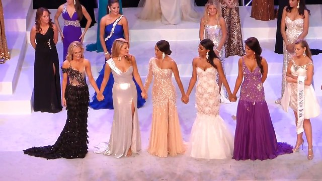Mallory Hagan WINS Miss New York 2012 Pageant LIVE!