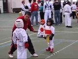 5 Year Old Boy Yellow Belt Tae Kwon Do Sparring