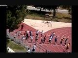 8th Grade Boy 100m Sprint -12.6 seconds. (Fastest 8th Grader in Cerritos 2011)