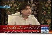 Altaf Hussain Ko Asal Gussa Khatra Kis Baat Par Hai - Chaudhary Nisar