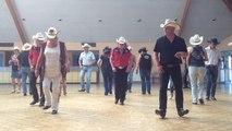 Bal de danse country à la salle Printania