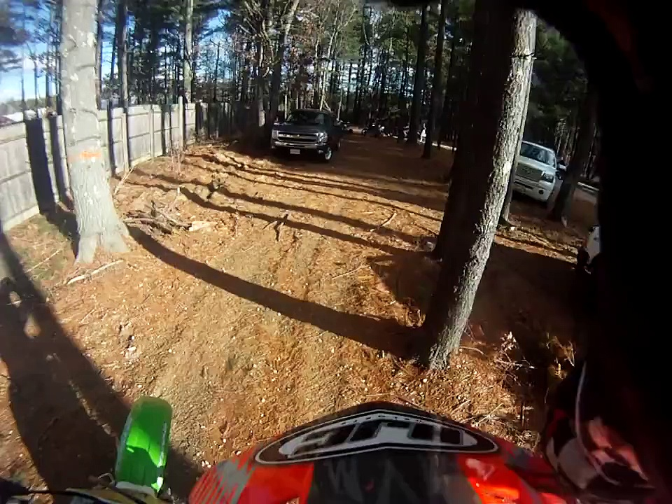 Dirt bike Riding /crash/ Riding streets and Woods