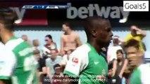 Anthony Ujah Goal West Ham United 1 - 1 Werder Bremen Friendly Match 2-8-2015