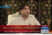 Who Invested Money Against Pakistan Are Not Letting Altaf Hussain Sleep-- Chaudhary Nisar