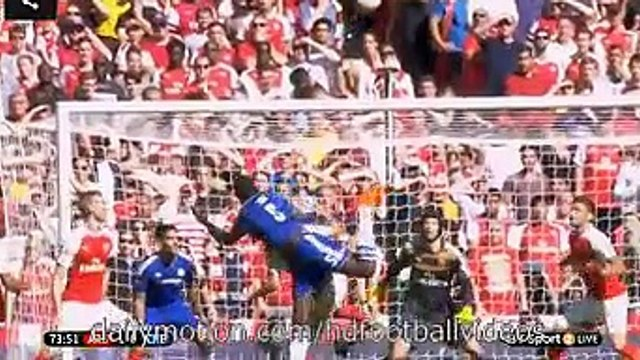 Petr Cech Amazing Save Arsenal 1-0 Chelsea 2.08.2015 HD