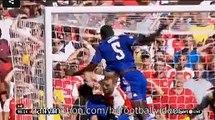 Mikel Arteta Get Injured Arsenal 1-0 Chelsea 2.08.2015 HD