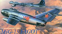 """Mikoyan Gurevich MIG-15 - """"USSR Jet Fighters""""  HD 720p"""