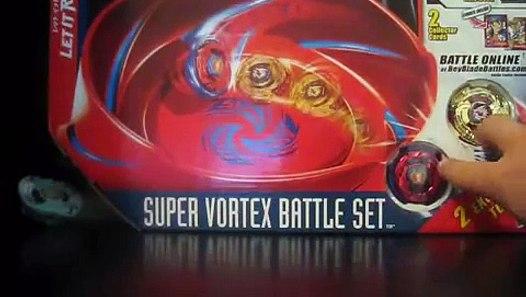 unboxing of super vortex battle set (beyblade metal fusion ...