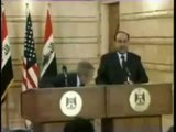 President Bush Get Shoes Thrown At Him In Baghdad By Journalist + New Bush Shoe Flash Game Links