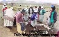 Biogas Bolivia: Instalación de un biodigestor en altiplano (+Manual)