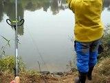 pescuit la feeder pe raul MURES  CU GABI