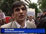 Reporters Without Borders calls for press freedom in Iran