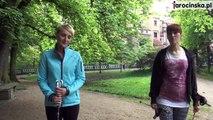 Nordic walking, technika marszu z kijkami, film instruktażowy cz. 4