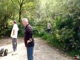 De Dikke Buiken uit Dordrecht zijn een weekendje uit in 2009