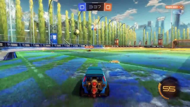 First Ever 1v1 [Full Game - Rocket League]