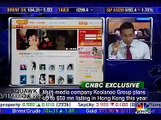 O.D Kobo Koolanoo Group's CEO at CNBC IPO Announcement