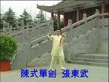 Taiji Sword - Chen Style (Zhang Dongwu)