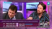 Pablo Iglesias versus Fernando Paz sobre el Franquismo en El Gato al Agua