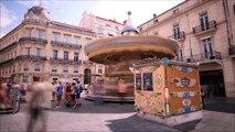 Hyperlapse and timelapse in Montpellier Summer 2013