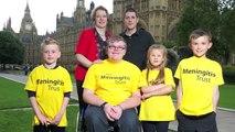We've done it! Meningitis Trust Education Petition hand in - 10 Downing Street