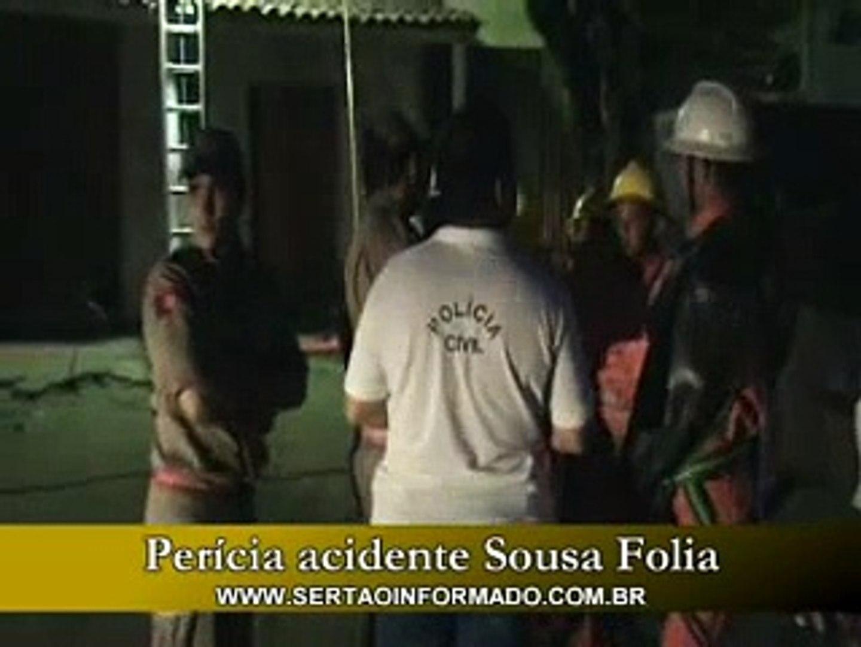 Perícia do Acidente do Sousa Folia 2008