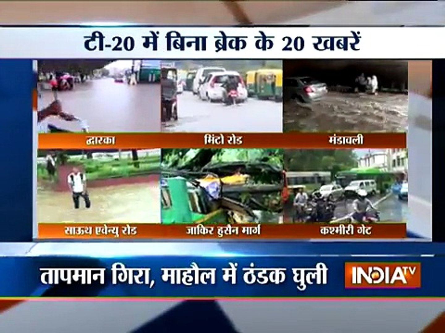 India TV News: T 20 News July 12, 2015 | India Tv