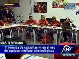 683 equipos oftalmológicos para el sistema de salud pública gracias al convenio China-Venezuela