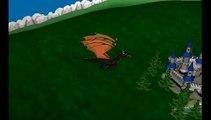 Drache 3D Design und Animation Virtools HTWK 2008