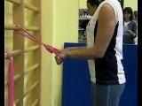 Allenamento elastici - elastic bands training. Extreme Kayak