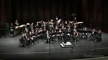 UNC Chapel Hill Wind Ensemble - Frank Ticheli's Symphony No. 2: III. Apollo Unleashed