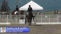 386D Carol Mavrakis on Thurston B Howell Novice 3-Day Dressage The Event at Rebecca Farm July 2015