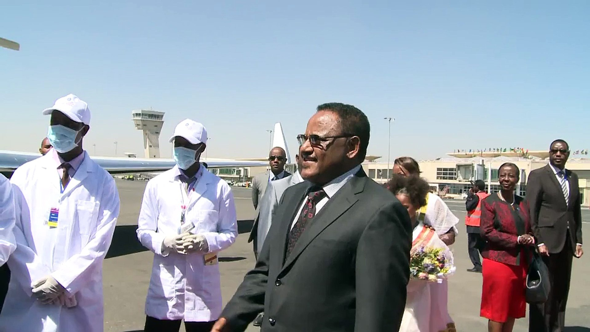 President Kagame arrives in Addis Ababa to attend African Union Summit- Addis Ababa, 28 January
