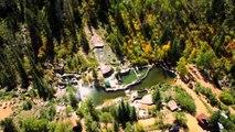 Colorado Hot Springs - Strawberry Park in Steamboat Springs