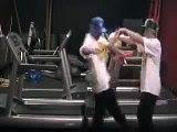 """""""Synergazm on Treadmills"""" at Gold's Gym San Luis Obispo"""