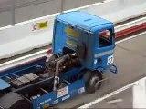 race demo van verschilende race wagens en vrachtwagens bij speed en gein 2009 op zandvoort