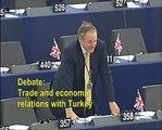 Customs Union made Turkish EU membership unnecessary - William Dartmouth MEP