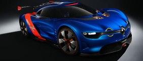 Renault Alpine A 110-50 - concept car Supercar prototype paris motorshow Mondial automobile 2012