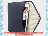 Bouletta Envelope Blau Apple iPad Mini 3 H?lle Leder Canvas Tasche Book Case Cover Sleeve -