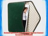 Bouletta Envelope Gr?n Apple iPad Air 2 H?lle iPad 6 Leder Canvas Tasche Book Case Cover Sleeve