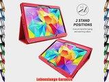 Snugg? Galaxy Tab S 10.5 H?lle (Rot) - Smart Case mit lebenslanger Garantie