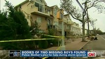 Woman & Kids Denied Refuge by Racist Staten Island Residents during Sandy (Boys Died)