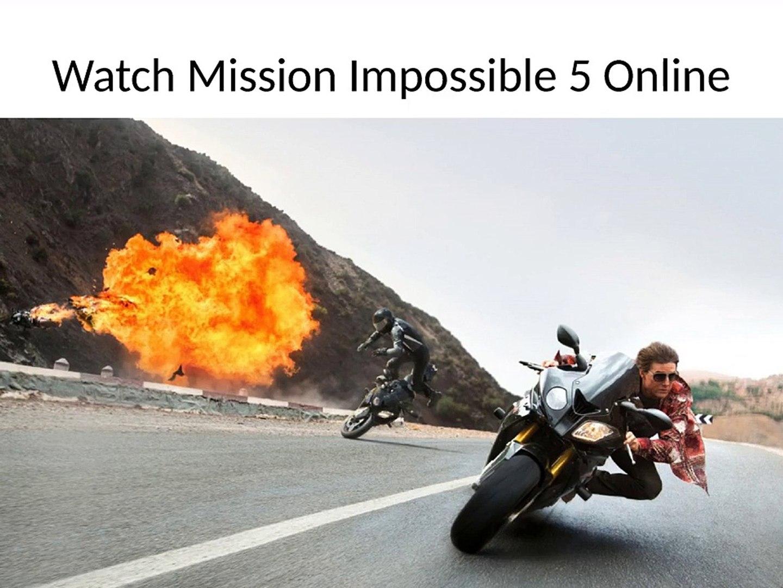 Watch Mission Impossible 5 Rogue Nation movie Online Free Putlocker