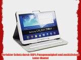 Edles noratio Samsung Galaxy Tab 3 10.1 - Smart Cover - Schutz H?lle im Football - Style -