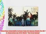 KleverCase Schutzh?lle im Book-Style f?r Amazon Kindle Fire HD 7 (2. Generation von 2012) Motiv